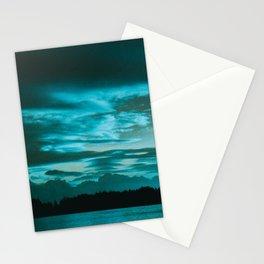 Azure Morning Stationery Cards