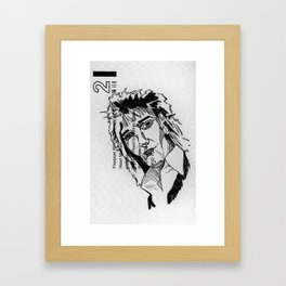 what i do now is all my dad's fault Framed Art Print