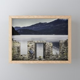 Kaslo Graffiti Framed Mini Art Print