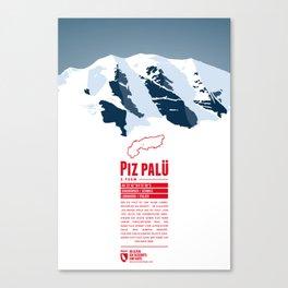 Piz Palü Canvas Print