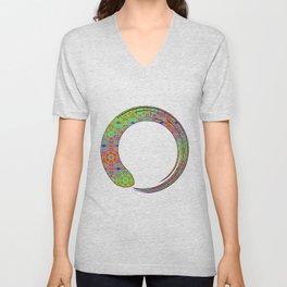 enzo zen symbol Unisex V-Neck