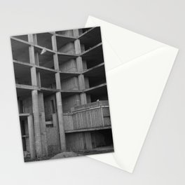 architectural skeleton Stationery Cards