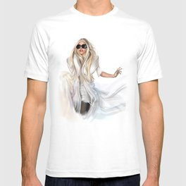 Mother Monster in  NYC T-shirt