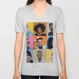 People are awesome Unisex V-Neck