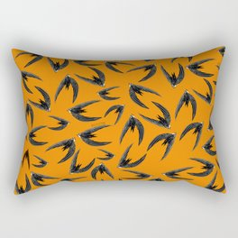 Totem swift orange-yellow (GREFA) Rectangular Pillow