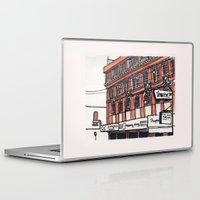 philippines Laptop & iPad Skins featuring Philippines : Calvo Building by Ryan Sumo