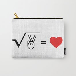 The Root of Peace is Love Carry-All Pouch