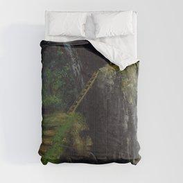 """Gustave Courbet """"Les Gorges des Saillon"""" Comforters"""