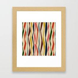 Bloomsbury Stripe Framed Art Print