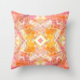 Wizard's Geometry Throw Pillow