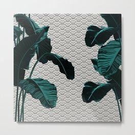 Tropical Wave Metal Print