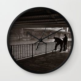 Autumnal Symphony of a Metropolis Wall Clock