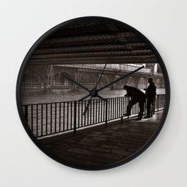 Autumnal Symphony of a Metropolis Wall Clock