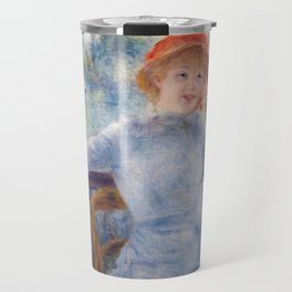 Auguste Renoir - Alphonsine Fournaise Travel Mug