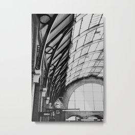 Kings Cross Station, London Metal Print