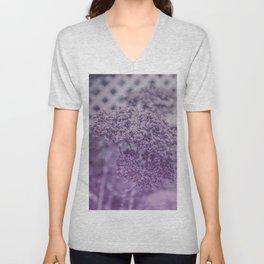 Sedum in Winter Unisex V-Neck