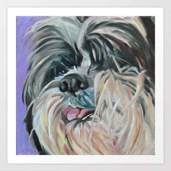 Duffy the Dog Art Print