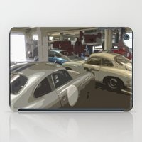 porsche iPad Cases featuring Porsche Garage by Premium