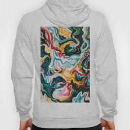 Abstract Agate Face Hoody