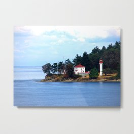 A Canadian Coast Metal Print