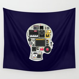 music memento Wall Tapestry