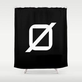 Agender Pride Flag Shower Curtain