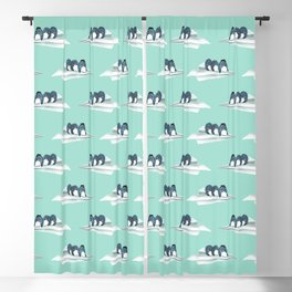 Let's travel the world Blackout Curtain