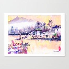20160910 Kuching Canvas Print