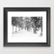 it was like walking into a dream ... Framed Art Print