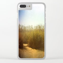 Little Swamp Clear iPhone Case