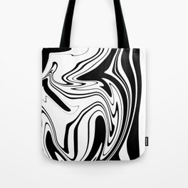 Stripes, distorted 1 Tote Bag