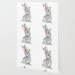 Bunny | Animal Illustration Wallpaper