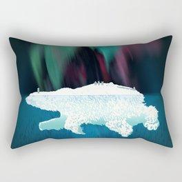 Polar Ice Rectangular Pillow