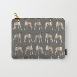 Whippet Love Pattern Carry-All Pouch