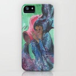 zodiac aquarius iPhone Case