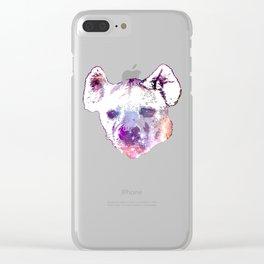 Space Hyena Clear iPhone Case