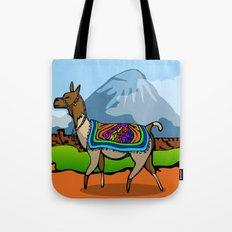 Lofty Llama Tote Bag