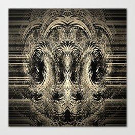 Tholian Black  Canvas Print