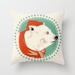 The Life Arctic Throw Pillow