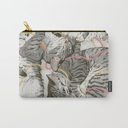 cats gold and rose Carry-All Pouch