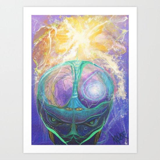 Cerebro Art Print