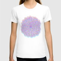 techno T-shirts featuring Techno Flower by HayleyM