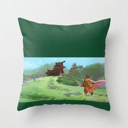 Arcbridge House Throw Pillow