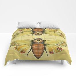Moth n. 1 (ORIGINAL SOLD). Comforters