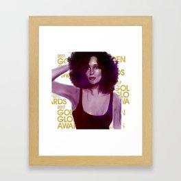 Tracee Ellis Ross Framed Art Print