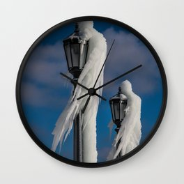 ice lamp ladies Wall Clock