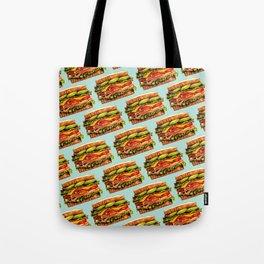 Sandwich Pattern - Turkey Tote Bag