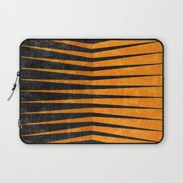 Yellow / Black - Geometric Laptop Sleeve