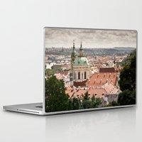 prague Laptop & iPad Skins featuring Prague by Alexander