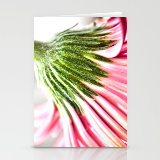 Pink Gerbera 6 Stationery Cards